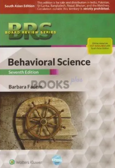 BRS Behavioral Science 7th Edition by Barbara Fadem PDF Free Download
