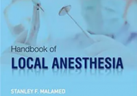 Handbook of Local Anesthesia 7th Edition by Stanley F. Malamed PDF Free Download