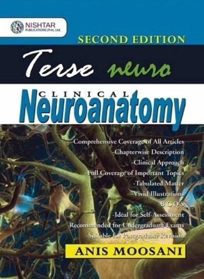 Terse Neuroanatomy - A Short Textbook 2nd Edition PDF Free Download